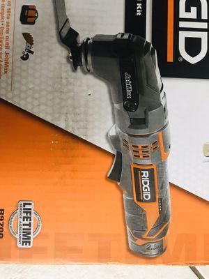 RIDGID 12-Volt JobMax Multi-Tool with Tool-Free Head for Sale in Pembroke Pines, FL
