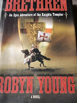 Used Hardcover Book : Brethren: An Epic Adventure of the Knights Templar by Robyn Young for Sale in Pinellas Park,  FL