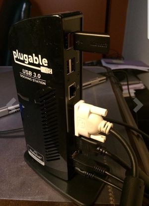 Plugable USB 3.0 Docking Station for Sale in Round Rock, TX