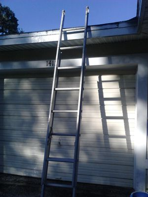 16 ft extension ladder aluminum for Sale in Tampa, FL