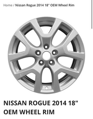 2014 Nissan Rogue OEM wheels for Sale in Aurora, IL