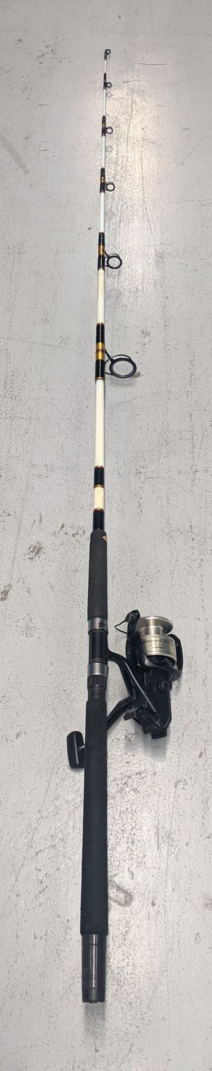 Serviced Shimano Baitrunner 6500B Fishing Rod And Reel Combo. Upgraded Line Roller. for Sale in Miami, FL