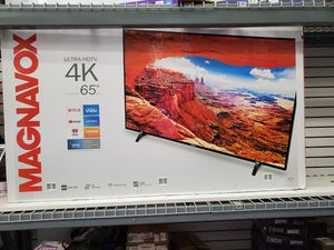 """65"""" LED SMART 4K ULTRA HDTV AVAILABLE BY MAGNAVOX WITH HDR. BRAND NEW for Sale in Los Angeles, CA"""