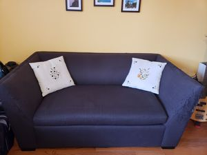 CB2 loveseat with pullout bed for Sale in Washington, DC