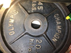 Olympic weights for Sale in Dunwoody, GA
