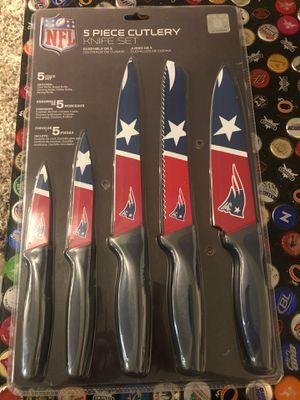 NFL Patriots knife set for Sale in Lynnwood, WA