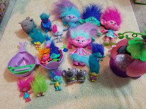 Bucket of trolls for Sale in Richmond, VA