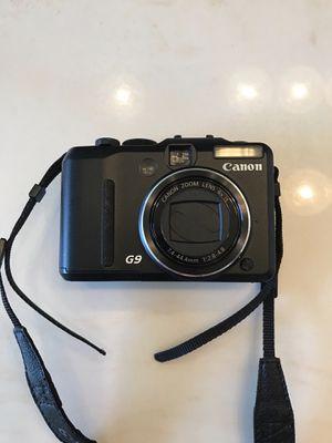 Canon Powershot G 9 camera for Sale in Warner Robins, GA
