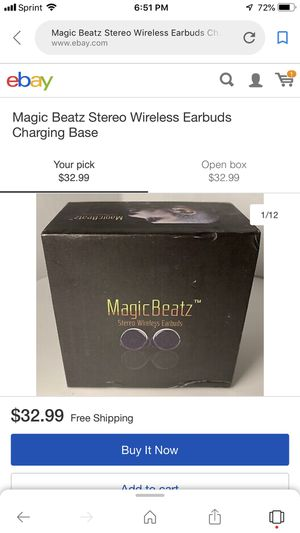 Wireless earbuds, 1 New $30.00 1 used once $25.00 for Sale in Cleveland, OH