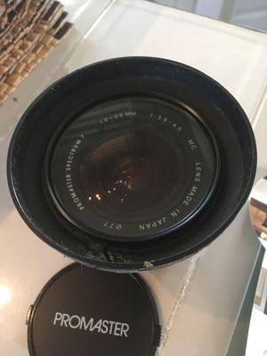 Nikon mount Promaster 19-35mm wide angle for Sale in Hampton, VA
