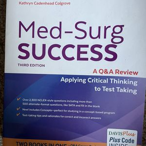 Med-Surg Success Textbook For Nurses for Sale in Easton, CT