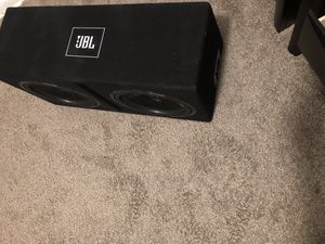 Kicker 12 s very good condition with amplifier for Sale in Belleair, FL
