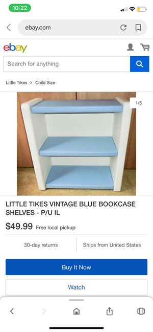 LITTLE TIKES VINTAGE BOOKCASE for Sale in Alta Loma, CA