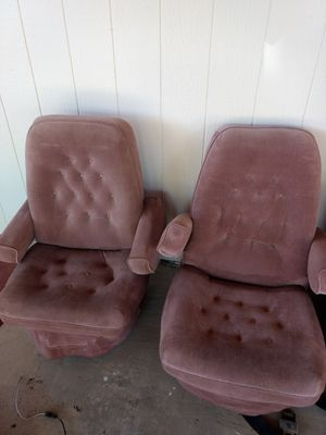2 passenger seats from a 1991 Chevy Conversion Van G20 for Sale in Tempe, AZ