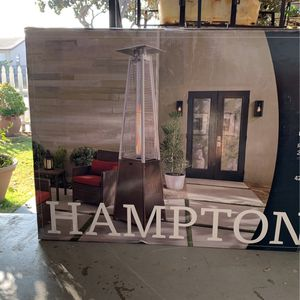42,000 BTU Gold Gas Pyramid Patio Heater by Hampton Bay for Sale in Hawthorne, CA