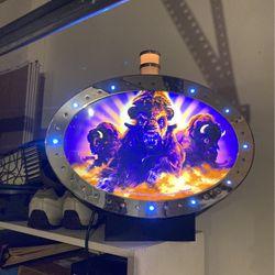 Buffaloooo!!!!!!!!!! Casino Game Topper W/ Service Light for Sale in San Jacinto,  CA