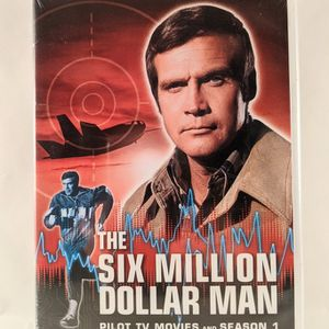 The Six Million Dollar Man: Pilot Movie DVD And Season One for Sale in Smithville, MO