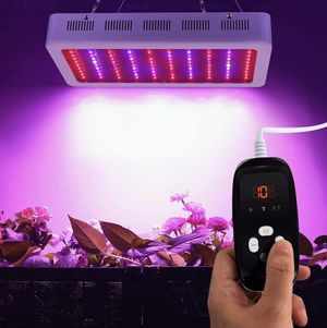 LED Grow Light Full Spectrum Plant Grow Lamp Led Hydroponic Lights with Timer Dimmable Veg&Bloom Channels for Grow Tent Greenhouse Hydroponic Plants for Sale in Rancho Cucamonga, CA