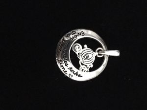 """Disney Cinderella Carriage silver charm for necklace """"Even Miracles Take A Little Time"""" for Sale in Davie, FL"""
