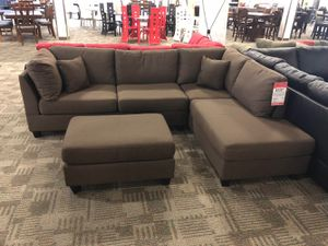 Sectional with ottoman! 549.99 and 629.99 for Sale in Phoenix, AZ
