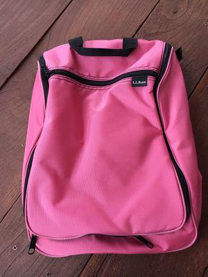 LL Bean pink nylon organizer bag for Sale in Denver, CO