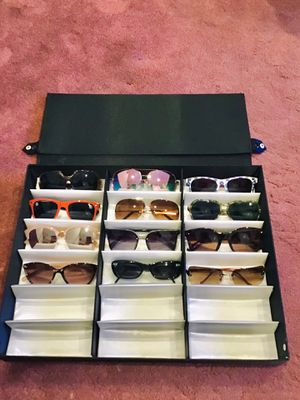 Sunglasses/Eyeglass Storage Display Grid Stand Case. Storage Case/ Organize Display for Sale in Harrison, NY