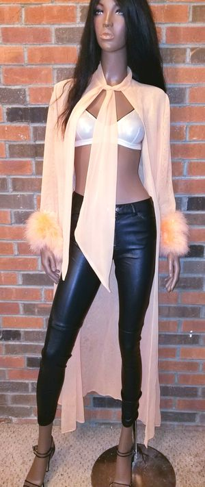 Vintage faux fur Robe onesize for Sale in Washington, DC