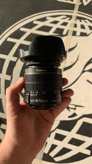 Canon ES 18-55 mm lens for Sale in Long Beach, CA