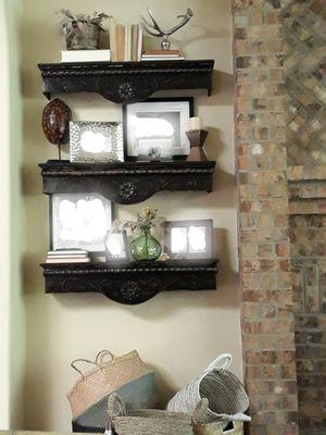 Wood & Metal wall shelves for Sale in Cedar Park, TX