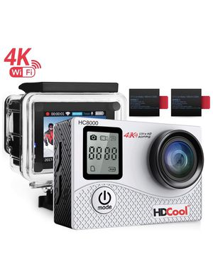 HDCool HC8000 Action Sports Camera 16MP Resolution WiFi Underwater Camera for Sale in Salt Lake City, UT
