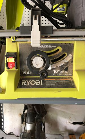 Ryobi 10 table saw and stand for Sale in Aurora, OH