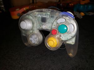 Nintendo GameCube Original Clear Controller - Tight for Sale in Bakersfield, CA