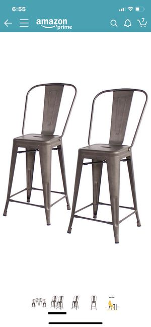 Set of two brand new barstools for Sale in Index, WA