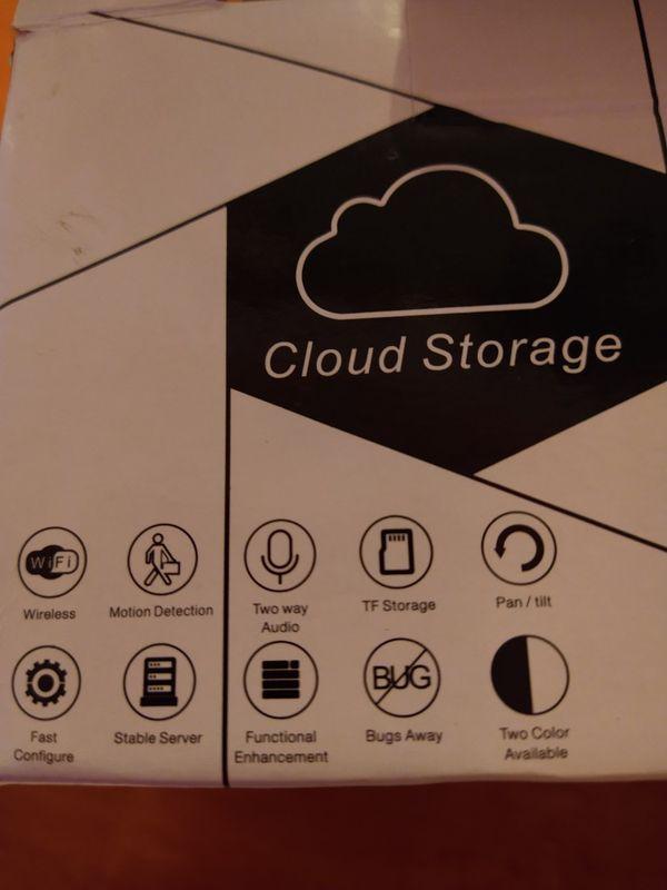 Cloud Storage Camera White Color New