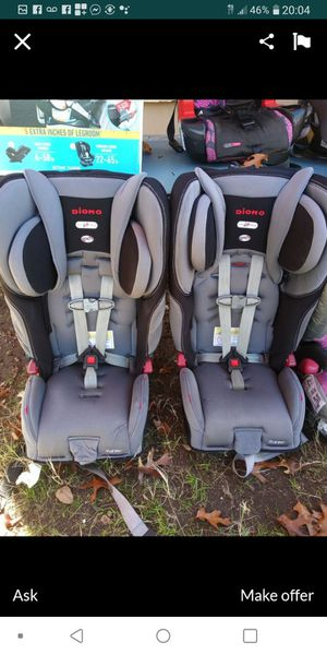 Diono brand car seat each 125 or both 200 for Sale in Dallas, TX
