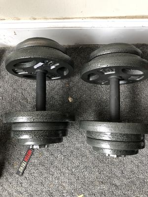 2 50 lbs dumbbells for Sale in Mableton, GA