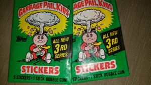 1986 Garbage Pail Kids Series 3 sealed 2pack for Sale in Chicago, IL