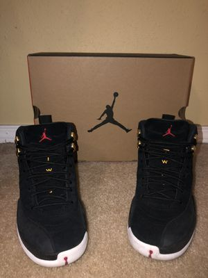 "Jordan retro 12 ""reverse taxi"" for Sale in Burien, WA"