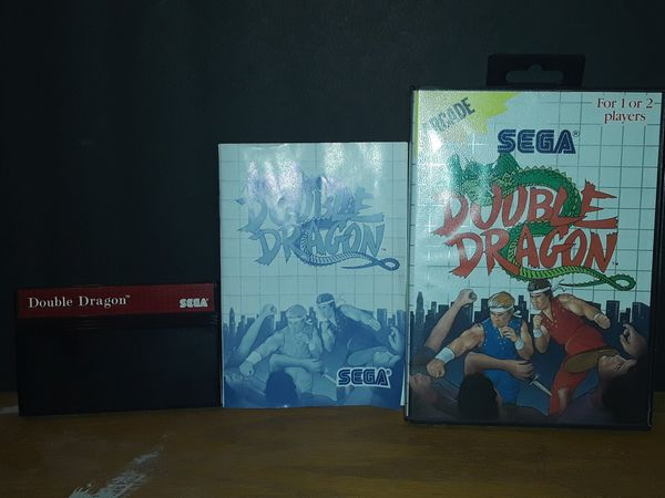 Sega Master System- Double Dragon