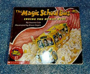 """1989 Magic School Bus Book, """"Inside the Human Body"""" for Sale in Port St. Lucie, FL"""