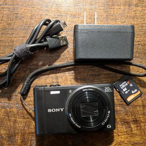SONY WX350 Compact 18MP Camera with 20x Optical Zoom for Sale in St. Louis, MO