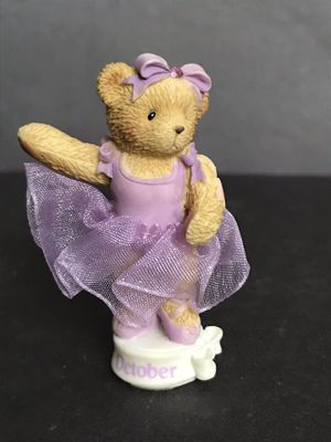Cherished Teddies October Ballerina for Sale in San Antonio, TX