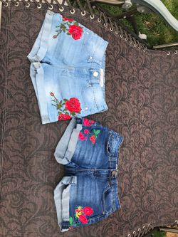Youth 12 Denim Shorts (2 piece) for Sale in Prineville,  OR