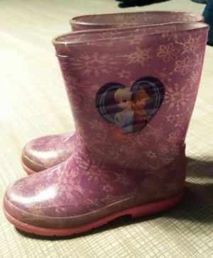 Girl's Rain Boots Size 2 (Location: Madera) for Sale in Madera, CA