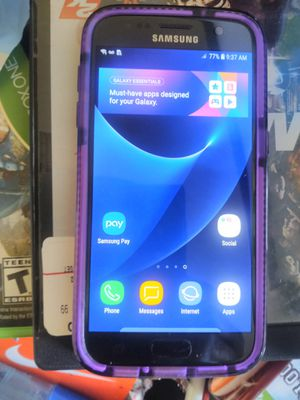 Samsung Galaxy S7 perfect conditivvon no scratches comes with case unlocked so It can go to any carrier$ 130$ for Sale in Beaverton, OR