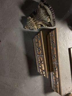 Set of three antique wall art/shelves - $45 for Sale in Seaford,  NY