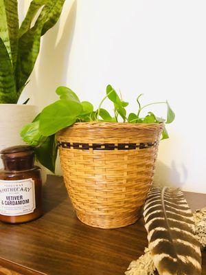 Boho plant basket for Sale in Highland Park, MI