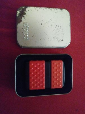 Zippo, black matte with red zip guard. for Sale in Austin, TX