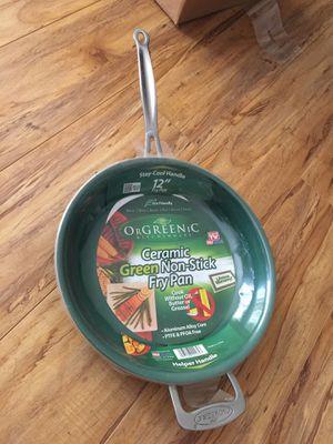 Brand New Ceramic Green Non-Stick Fry Pan for Sale in Chula Vista, CA