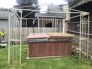 Hot tub and/or canopy for Sale in Tarentum, PA